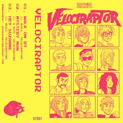 VELOCIRAPTOR - 'WALK ON BY'