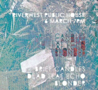 BRIEF CANDLES TOUR
