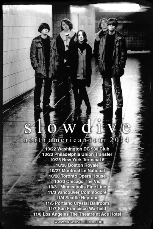 slowdive-north american tour 2014